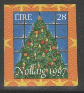 IRELAND SG1149 1997 CHRISTMAS SELF ADHESIVE MNH