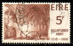 Ballintubber Abbey, Ireland stamp SC#218 used