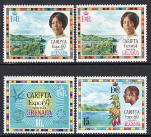 Grenada 316-319 MNH VF