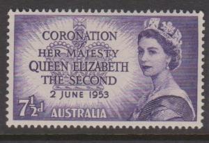 Australia Sc#260 MNH