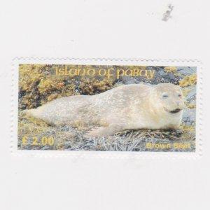 PABAY, British Local - 2006 - Brown Seal - Perf MNH Single Stamp