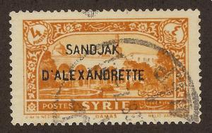 ALEXANDRETTA SC# 7 VF U 1938