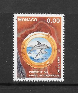 DOLPHIN - MONAC0 #1907  MNH