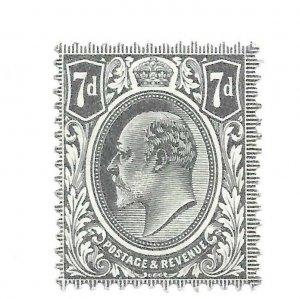 #145 Britain MH - CAT $42.50 - Stamp