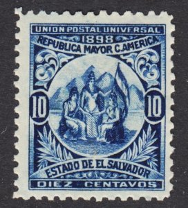 El Salvador Scott 181 wtmk 117 F to VF mint OG HHR reprint.