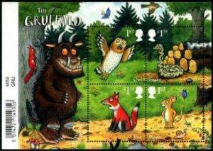 HERRICKSTAMP NEW ISSUES GREAT BRITAIN Sc.# 3905 The Gruffalo Souvenir Sheet