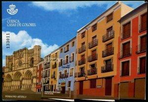 HERRICKSTAMP NEW ISSUES SPAIN World Heritage Cuenca S/S