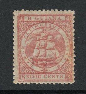 British Guiana, Sc 66b (SG 82), MHR