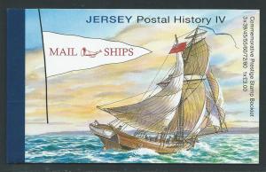 Jersey 1447a-8a 2010 Ships Prestige Booklet MNH