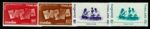 Thailand SC# 452-455, Mint Never Hinged - S13287