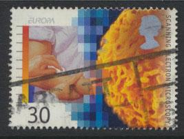 Great Britain SG 1840  Used  - Europa Medical  Discoveries