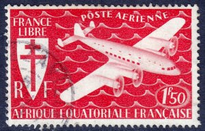French Equatorial Africa - #C18 - Used - SCV $0.50