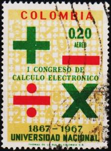Colombia. 1968 20c S.G.1233 Fine Used