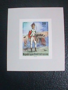 ​CENTRAL AFRICAN STAMP:1976-SC#C144 BI-CENTENARY OF AMERICAN REVOLUTION S/S #4