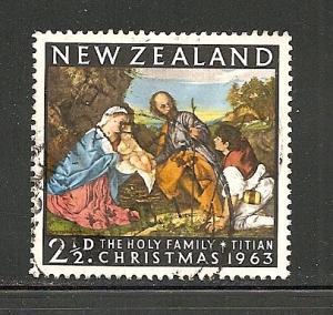 New Zealand 1963 stamp used s.c.# 359