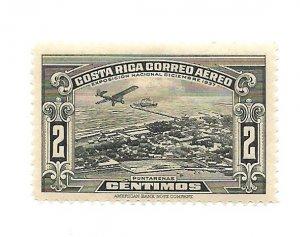 Costa Rica 1937 - Unused - Scott #C31