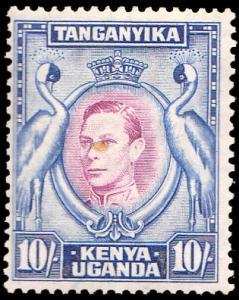 Kenya Uganda & Tanganyika Scott 84 Used.