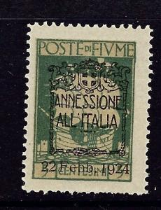 Fiume 196 MNH 1924 overprinted issue