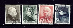 Netherlands B86-89 Used 1936 complete set