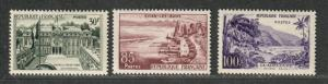 France Sc#907-909 M/NH/VF, Complete Set, Cv. $30