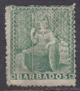 Barbados Sc #13 Used; Mi #6a