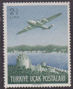 Turkey #C18 MNH plane