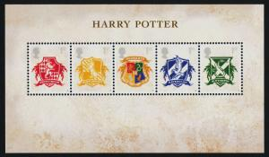 Great Britain 2486 MNH Crests, Harry Potter