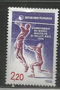 FRANCE 2013 MNH, MEN'S WORLD VOLLEYBALL CHAMPIONSHIPS