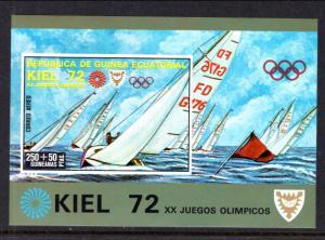 Equatorial Guinea 72116 Olympics Souvenir Sheet MNH VF
