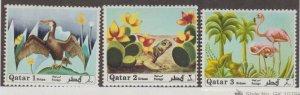 Qatar Scott #238-239-240 Stamps - Mint Set