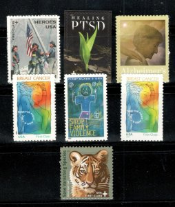 Semi-Postal US Stamps B1-B2-B3-B4-B5-B6-B7 Complete Set Of 7 Mint/nh SHIPS FREE