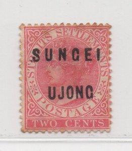 Malaya Sungei Ujong - 1882-84 - SG17 - 2c Pale Rose - no gum #639