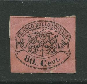 STAMP STATION PERTH Italy #18?  Roman States Mint Imperforate CV$?