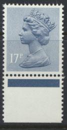 GB 17p Machin SG X952 with margin Unmounted Mint Post Office Fresh