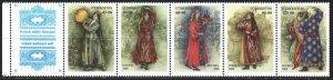 Uzbekistan. 2000. 274-78. Folk costumes. MNH.