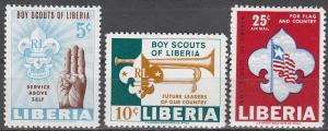 Liberia #421-2, C164 MNH VF (V3413)