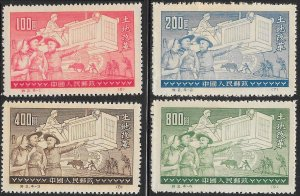 People's Republic of China 128-131 Unused/NGAI (Reprint) - Agriculture