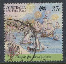 SG 1081  SC# 1027e  Used  - Australian Settlement 8th Issue