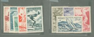 Monaco 204-208/CB7-CB10 Mint VF LH