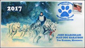 17-385, 2017,Beargrease Sled Dog Marathon, Two Harbors MN, Pictorial, Event Cove