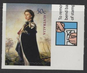 AUSTRALIA SG2627 2006 QUEENS 80th BIRTHDAY SELF ADHESIVE ( EX BOOKLET) MNH