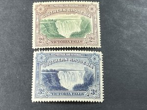SOUTHERN RHODESIA # 37-37A-MINT/HINGED--COMPLETE SET--1935-41