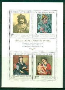 Czechoslovakia #1910-1913  Mint NH  CV$35.00  Sh. Of 4