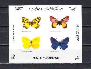 Jordan, Scott cat. 1452. Butterflies s/sheet. *