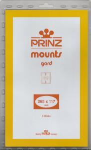 PRINZ CLEAR MOUNTS 265X117 (5) RETAIL PRICE $11.50
