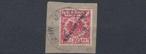 MARSHALL  ISLANDS  1897 - 00  S G G3  10PF  CARMINE  USED   CAT £120