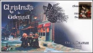 18-332, 2018, Christmas, Pictorial Postmark, Event Cover, Odessa NY