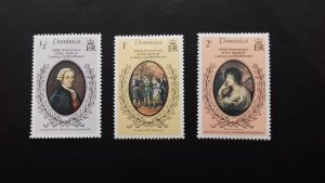 Dominica 1977 The 150th Anniversary of the Death of Ludwig van Beethoven Unused