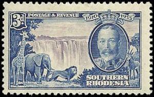 Southern Rhodesia  - 35  - Unused - SCV-6.50