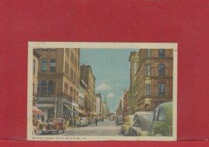Barrington Street Halifax Nova Scotia #81 Canada post card unused